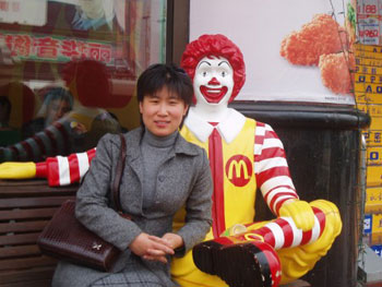 China meets Ronald;  spreading American obesity.