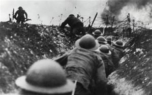 Nasty WW1 trench fighting.