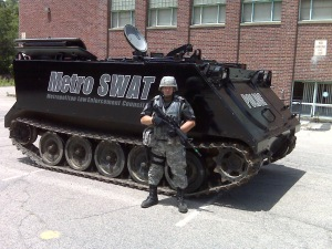 This thing is part of Bellingham, Mass. law enforcement. Why?