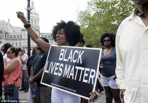 """I prefer, """"Human Lives Matter"""""""