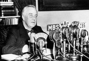 "Roosevelt ""fireside chat"" State of the Union, 1/11/1944"