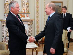 Tillerson with Putin