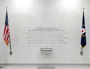 Memorial Wall at CIA