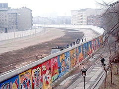 Berlin Wall back in the day.